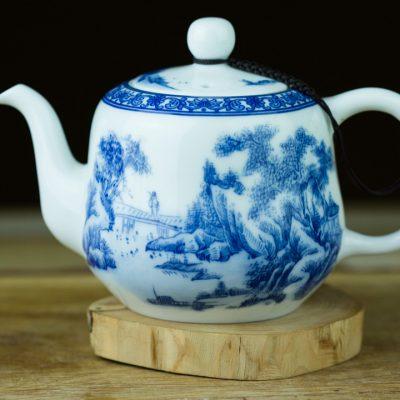 Bule de porcelana de Jing De Zhen