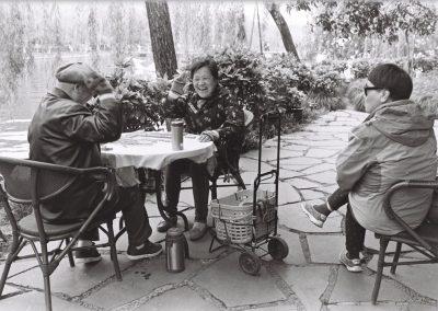 Aproveitando uma tarde em algum lugar do interior Chinês!