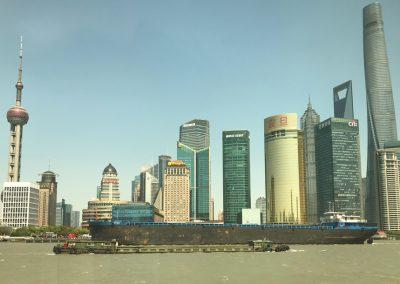 Vista do Bund, Shanghai, China