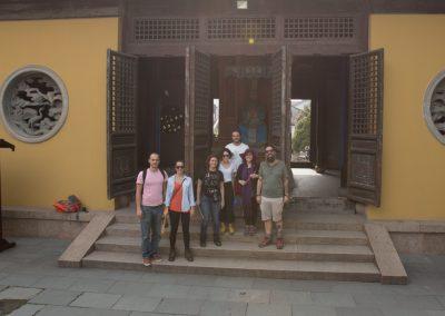 Templo taoísta na cidade de canais de Nanxun