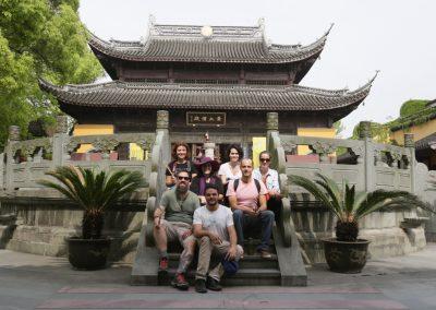 Visita à cidade de canais de Nanxun
