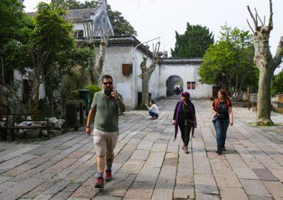 Passeio pelas ruelas da cidade de canais de Nanxun