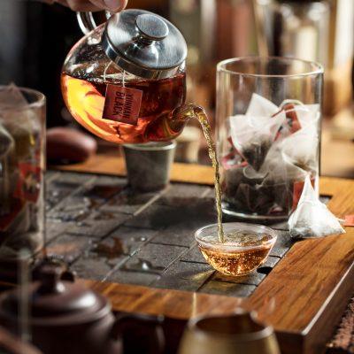 Yunnan Black, chá preto em sachês piramidais
