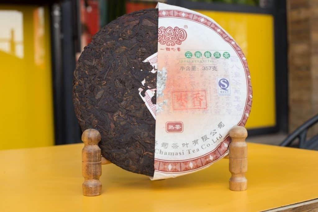 Cha Ma Si Shu Pu'er '07